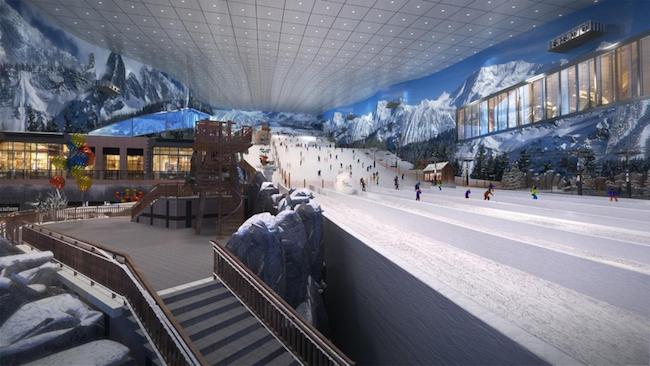滑雪不只在冬季  东北地区最大的文化旅游项目哈尔滨万达乐园正式开票