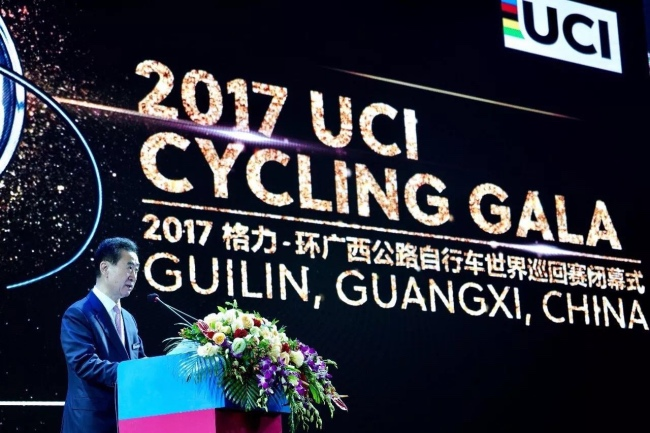 投入空前的环广西自行车世巡赛,广西和万达分别得到了什么?