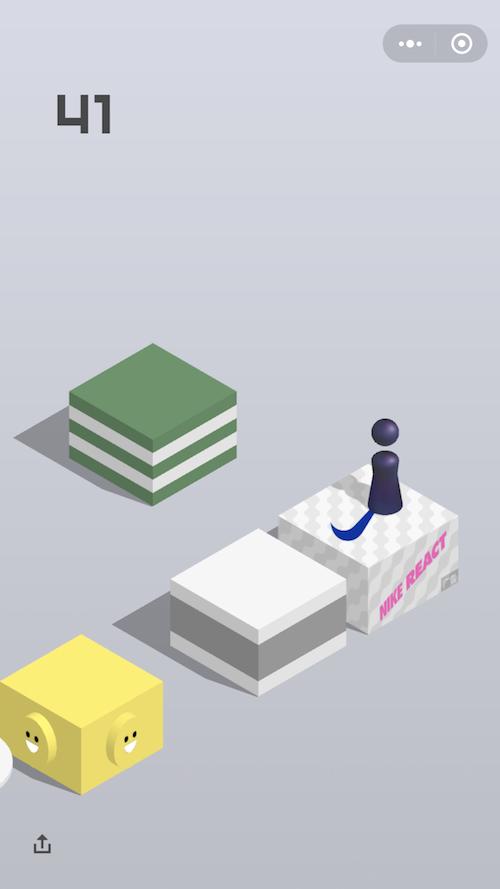 """耐克或成为""""跳一跳""""首个广告品牌(图2)"""
