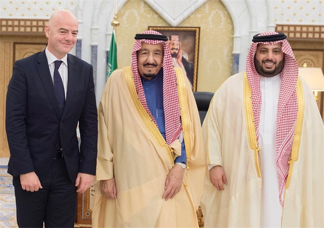 体育离不开政治的背景下,沙特阿拉伯会成为国际足联的杠杆吗?