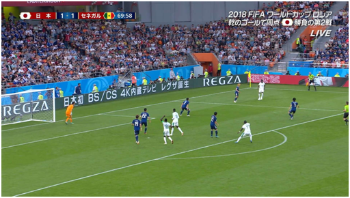 中英俄语之后,海信旗下东芝电视携日语广告亮相世界杯
