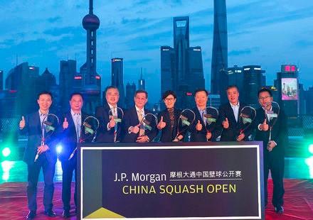金秋时节再战上海,摩根大通成为中国壁球公开赛首个冠名赞助商