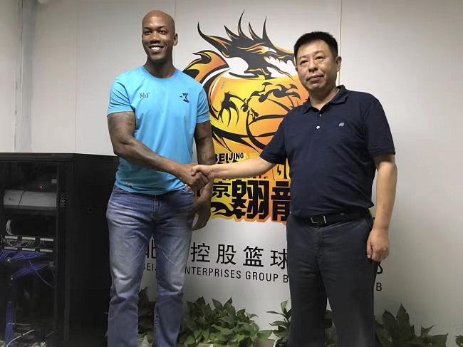马布里加盟北控,留在北京征战CBA第九个赛季