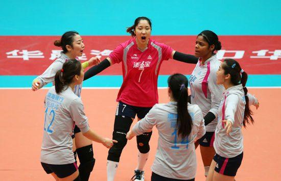 """结束""""裸奔""""时代,中国排球联赛获匹克赞助"""