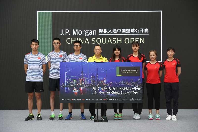 2017摩根大通中国壁球公开赛公布选手名单,汇聚世界顶尖选手赛事奖金20万美元
