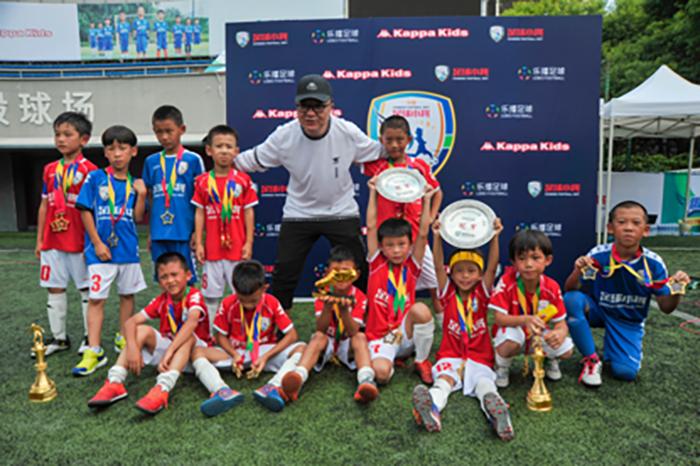 中国足球小将全国巡回赛开启,短视频公司乐播足球发展青少年线下体育赛事