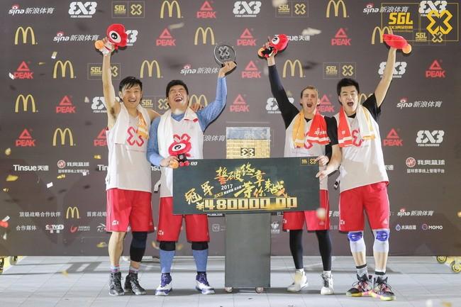 借助泛娱乐风潮,新浪体育3X3黄金联赛能从同质化赛事中脱颖而出吗?