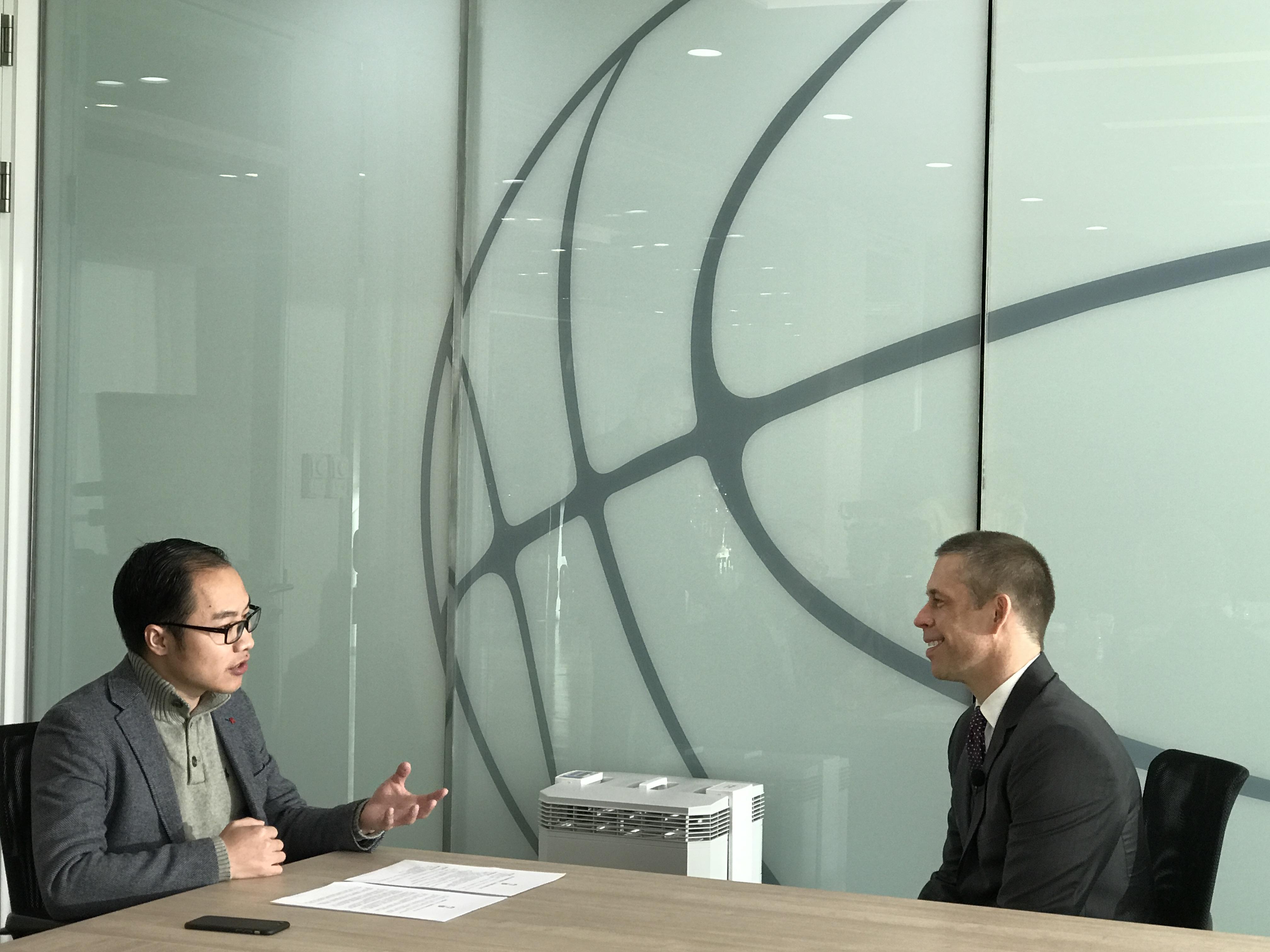 NBA中国CEO本赛季结束时卸任,舒德伟亲口跟我们说了原因