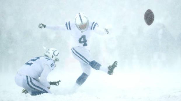 比赛遇上大暴雪,老天爷给这位NFL传奇弃踢手添了点麻烦
