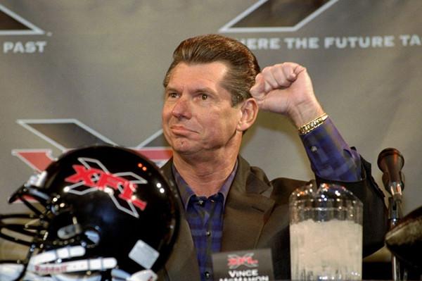 WWE老板称自创联赛XFL后年开打,与NFL竞争它的机会究竟在哪儿?