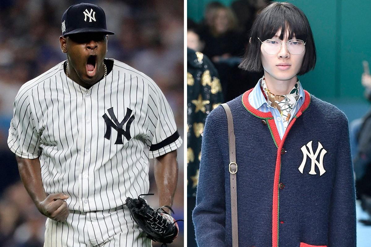 从寻常街头到古驰大秀,纽约扬基队的NY标志如何成为时尚界的全新潮流?