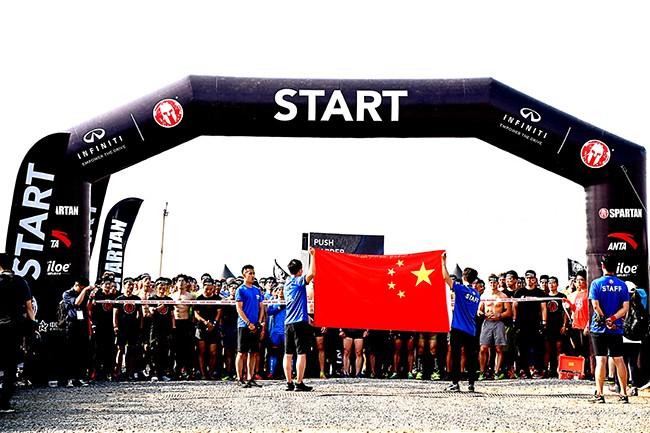 斯巴达北京站超万人参赛,英菲尼迪冠名、安踏赞助