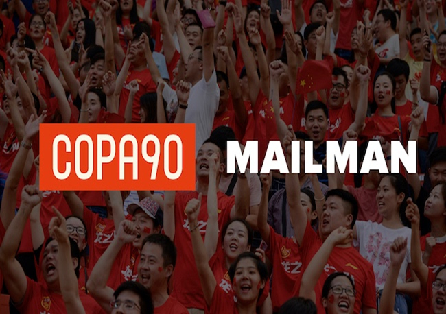 邮人体育宣布与COPA90合作,将内容本土化融入社交媒体运营
