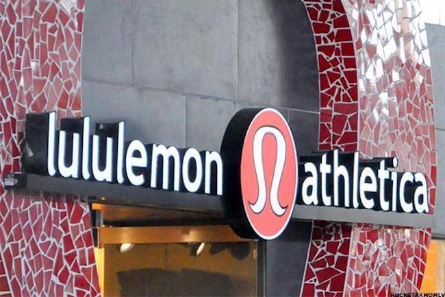 受高增长业绩驱动,lululemon今年股价涨幅超60%