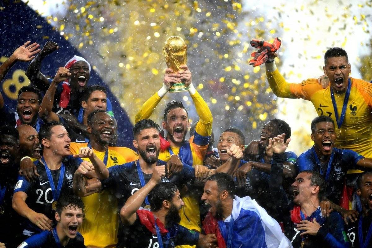 冠军!法国4-2克罗地亚登顶世界杯,姆巴佩名字6天被申请注册商标137个 | 懒熊早知道