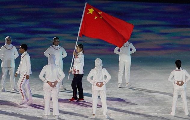 Team China登场