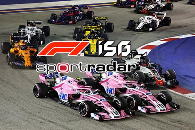 结束长达40年的博彩赞助禁令,F1与ISG签约5年总价值1亿美元